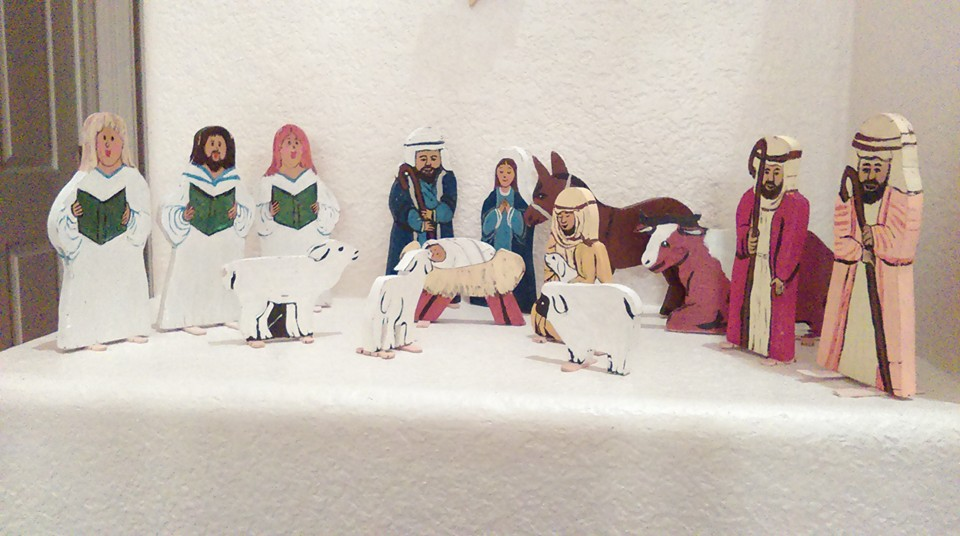 nativity homemade